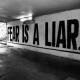 fear is a lier
